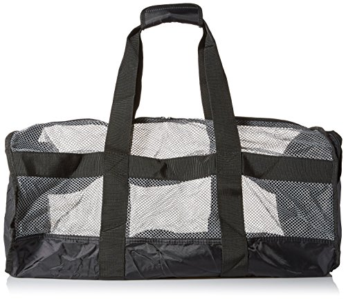 National Geographic Schnorcheln Clamshell Deluxe Kordelzug 2Tasche Duffle Bag, Teal/Schwarz