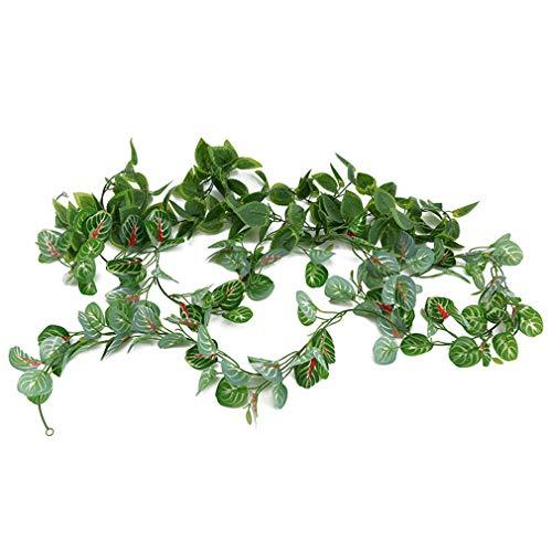 Salbei Zubehör (Yinew Simulation Pflanzen Künstliche Apfelblatt Süßkartoffel Blätter Rattan Reben Hochzeit Garten Dekoration Zubehör, Grüner Salbei)