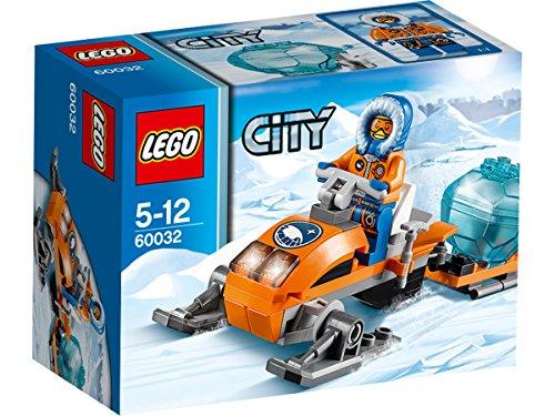 LEGO City - 60032 - Jeu De Construction - La Motoneige
