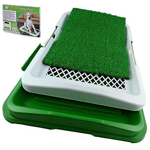 DOG TOILETTE CANI POTTY PATCH LETTIERA WC LAVABILE 3 STRATI