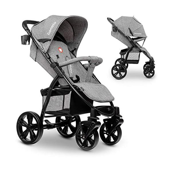 Lionelo 5902581656278 LO-Annet Concrete Stroller Pushchair (Light-Gray)   1