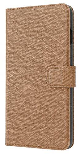 Xqisit Slim Wallet Schutzhülle für Apple iPhone 6 Plus / 6s Plus Braun