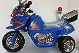 Kindermotorrad Elektromotorrad Topracer Kinder von 4-8 Jahre bis max. 40kg (Blau)