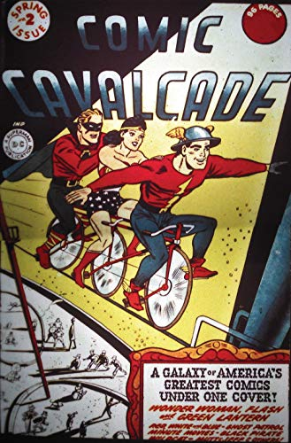 Comic Cavalcade (1942-1954) #2 (English Edition) eBook: Ted Udall ...