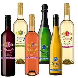 Some-Alkoholfreier-Wein-Paket-Rotwein-Weiwein-Roswein-alkoholfrei-zB-Chardonnay-Cabernet-Sauvignon-Riesling-etc-6x075l