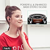 Bluetooth In-Ear Sport Kopfhörer HAVIT V4.2 IPX5 Schweißresistent Stereo magnetischer Sport Ohrhörer mit 10 Stunden Spielzeit & 10 Meter Reichweite, eingebautes Mikrofon für iPhone, Huawei und Samsung (I39 ) - 51QiRi0zXdL - Bluetooth In-Ear Sport Kopfhörer HAVIT V4.2 IPX5 Schweißresistent Stereo magnetischer Sport Ohrhörer mit 10 Stunden Spielzeit & 10 Meter Reichweite, eingebautes Mikrofon für iPhone, Huawei und Samsung (I39 )