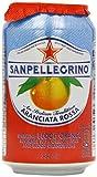 SanPellegrino Aranciata Rossa 24x 330ml - kohlensäurehaltiges Erfrischungsgetränk mit Blut-Orange