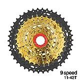 Roue libre Bicyclette de volant de vélo de montagne changeant la vitesse 40 / 42T de...