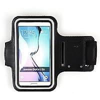 Nero allenamento corsa Sport Palestra Custodia da braccio per iPhone