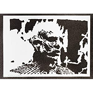 Die Nachtkönig Night King Game Of Thrones Poster Plakat Handmade Graffiti Sreet Art - Artwork