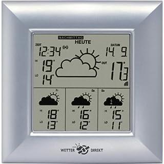 Accucell Deutschland Wetterstation digital mit Uhr, Techno des Handels