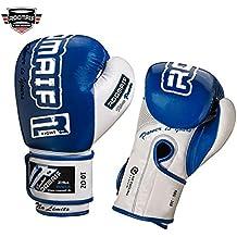ROOMAIF - Guantes de Boxeo Sparring Entrenamiento Mitones Muay Thai Kick Boxing MMA Boxeo ES (