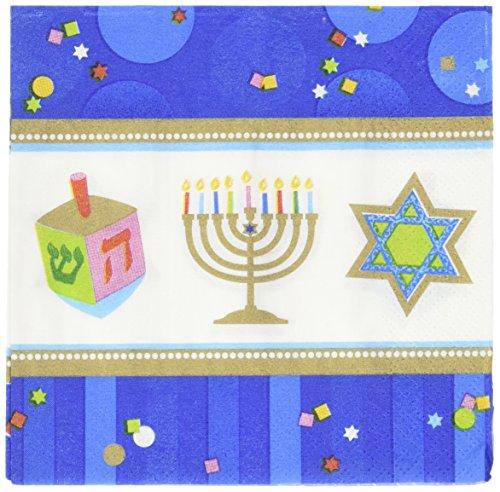 Amscam Geschirr, Hanukkah Celeb Getränk Serviette