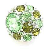 Time4-Charms Chunks 069 Juwel Steine grün für Armband & Kette