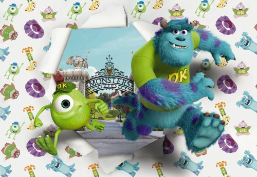 komar-disney-pixar-monsters-university-wallbreaker-papier-peint-en-vinyle-multicolore-lot-de-8