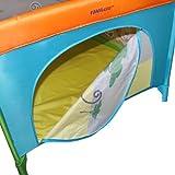 Reisebett Kinderbett Klappbett Farb- und Musterwahl inkl. Matratze, Tasche & Spielringe - 5
