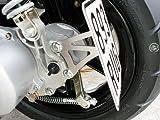 Kennzeichenhalter seitlich Sachs Roller Speedforce 50 Jet SX-1 R CPI Jet SX1 SX2 RS Explorer Race Spin GE50 Roller Speedjet RS CPI Roller Hussar Aragon GP JP Keeway RY8 Generic XOR Tauris Samba Fuego Mambo GT GE Halter Kennzeichen