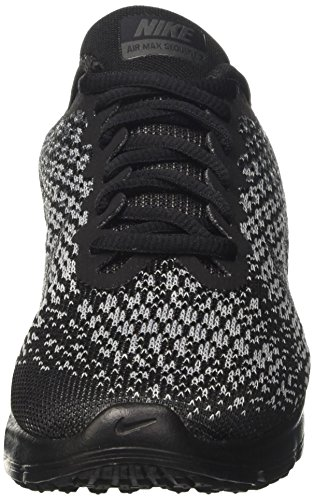 Nike Damen Wmns Air Max Sequent 2 Turnschuhe Schwarz (Black/mtlc Hematite/dk Grey/wolf Grey/volt)