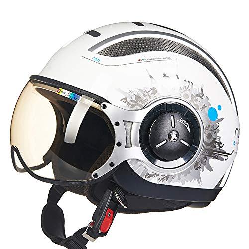 HXYT Casco da Mountain Bike ventilato, Certificazione DOT/Casco semirigido Universale per Uomo e Donna (M, L, XL, XXL),M