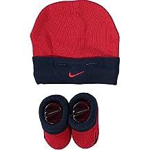 Nike - Sombrero - para bebé niño Rojo Azul ...