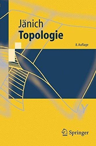 Topologie (Springer-Lehrbuch) (German Edition) by Klaus J???nich (2008-02-27)