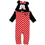 Disney Minnie Mouse Plüsch Overall Gr. 68,74,80,86 (74)