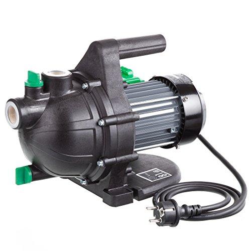 Ultranatura Gartenpumpe GP-100, 800 Watt, bis 3.000 l/h Fördermenge, bis 0,36 MPa (3,6 bar) Förderdruck