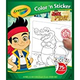 Crayola-Disney Jake and The Neverland Pirate Colour N Sticker Book