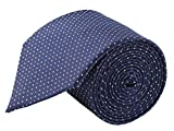#8: Modo Formal Ties For Men, Geometric Dark Blue Tie