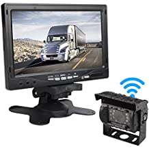 """Car Rover Cámara de Reserva de Camiones Inalámbricos Sistema de Aparcamiento con 7 """"HD TFT Monitor"""