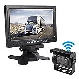 """Car Rover Kabellos LKW Rückfahrkamera Parksystem mit 7 """"HD TFT Monitor"""
