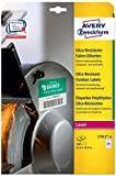 AVERY Zweckform L7912-10 Ultra-Resistente Folien-Etiketten (A4, 240 Stück, 63,5 x 33,9 mm, 10 Blatt) weiß
