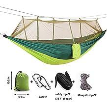 Firstwish Outdoor Moskitonetz Hängematte Tragbar Fliegennetz Für 2 Personen  Camping Hängematte Zelt Insektenschutz Picknick Matte