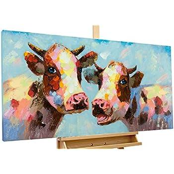 IPLST@ Handgemaltes abstraktes Tier Lustige Kühe tragen