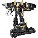 #9: IndusBay Avenger SuperHero Thor Autobots Transformers Car Deformation Avengers Action Figure Toy