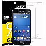 NEW'C Verre Trempé pour Samsung Galaxy Trend Lite,[Pack de 2] Film Protection écran...