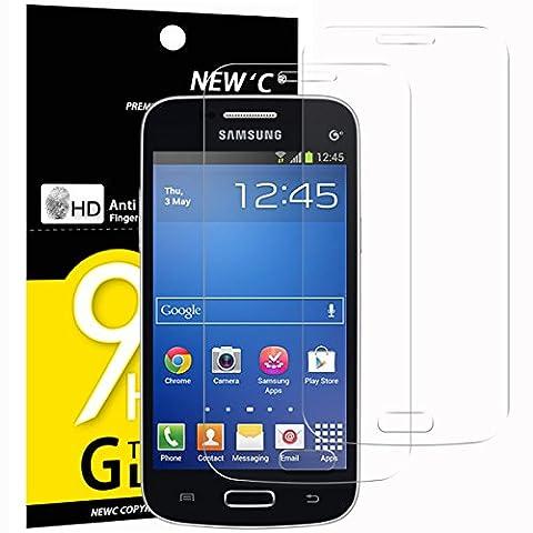 2 Pack Verre Trempé Samsung Galaxy TREND LITE, NEWC® Film