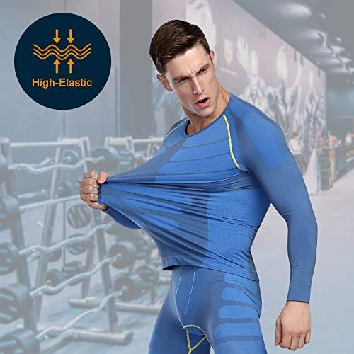 Zoom IMG-3 bwiv maglia a compressione uomo
