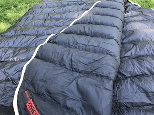 AEGISMAX 800 Fill Power Goose Down Sleeping Bag 95/5 Premium Quality Goose Down Ultralight Mummy Bags for Backpacking 6…