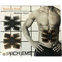 FHSTREET Beauty Body Mobile Gym 6 Pack EMS Abdominal Muscle Stickers