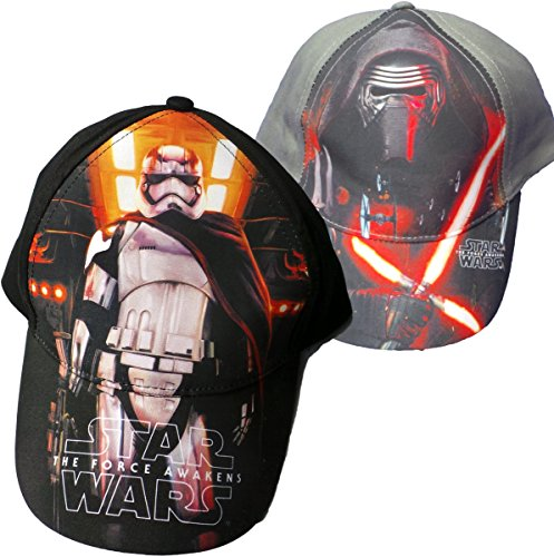 Star Wars - 2er Pack Caps - Kylo Ren und Stormtrooper - Black Edition -...