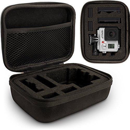 Optix Pro U6315 -Kleine EVA-Hartschalenkoffer Geeignet für GoPro Hero1 bis Hero5 Kameras -Schwarz