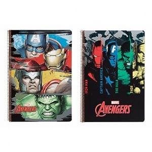 Avengers- Libreta Folio 80 Hojas Tapas duras (SAFTA 511734066)