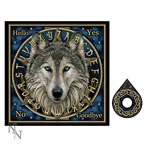 Ouija Brett Spirit Board 36cm verschiedene Varianten (Wolf Spirit Lisa Parker)