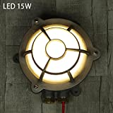 SEXY - Amerikanisch Industriestil Retro Runden Kreativ LED Wandlampe Draussen Badezimmer Explosionsgeschützt Gasherd Wandleuchten --Wandbeleuchtung Dekoration