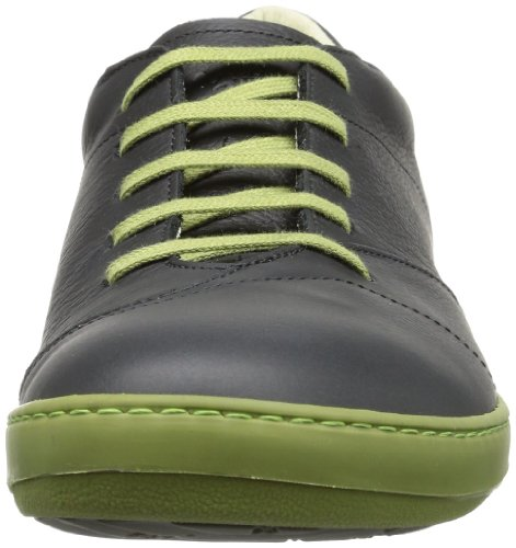 El Naturalista N211 Grain Black-Green / Meteo, Chaussures de Gymnastique Homme Noir - Nero (Schwarz (Black-Green))