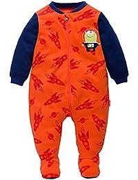Baby Strampler Spielanzug Footed Schlafanzug Jungen M/ädchen Baumwolle Overalls Baby-Nachtw/äsche
