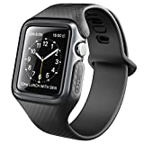 Clayco Bracelet pour Apple Watch 42mm, Coque Bracelet de Protection Robuste Bande de...