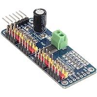 Módulo controlador de servo motor IIC RoboHiLetgo PCA9685 PWM para Robot Arduino de16canales y 12bits