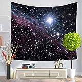 GuDoQi Tapisserie Sternenhimmel Universum Nachtansicht Tapisserie Wandteppich Wand Dekoration Home Decor Beach Blanket